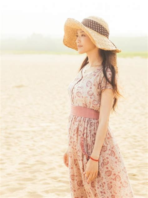 Topi Fashion Pantai Chic Tp 143 4 gaya floral vintage shu qi dalam drama quot all you need is quot fashion bintang