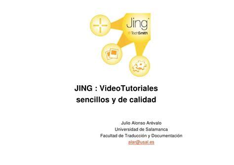 jing tutorial powerpoint jing video tutoriales sencillos y de calidad