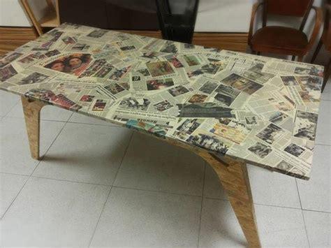 arredare con materiali di recupero tavolo con materiali di recupero il tavolo dei ricordi