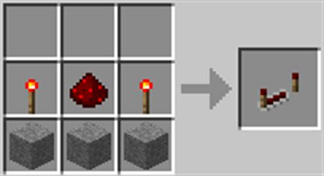 Minecraft Redstone L Crafting Recipe by Redstone Repeater Recipe How To Craft Redstone Repeater
