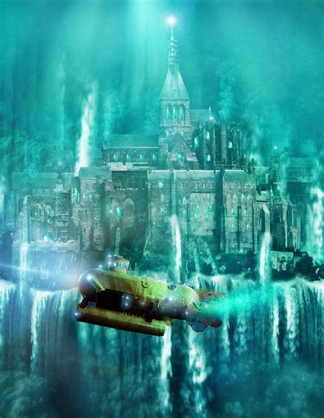 atlantis  bbarends scenery   atlantis fantasy