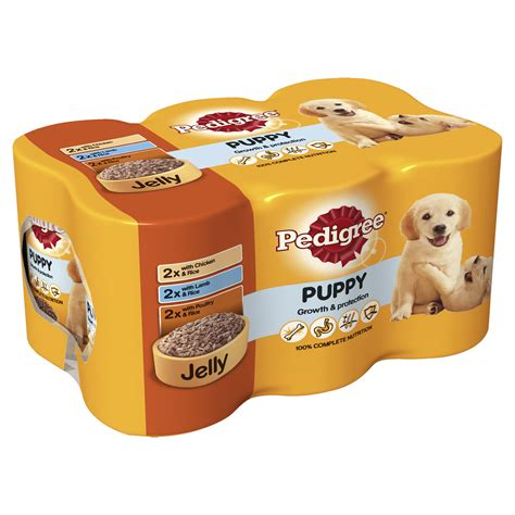 pedigree puppy growth and protection pedigree puppy growth protection food cans