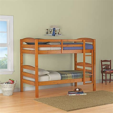 mainstays wood bunk bed mainstays wood bunk bed finishes