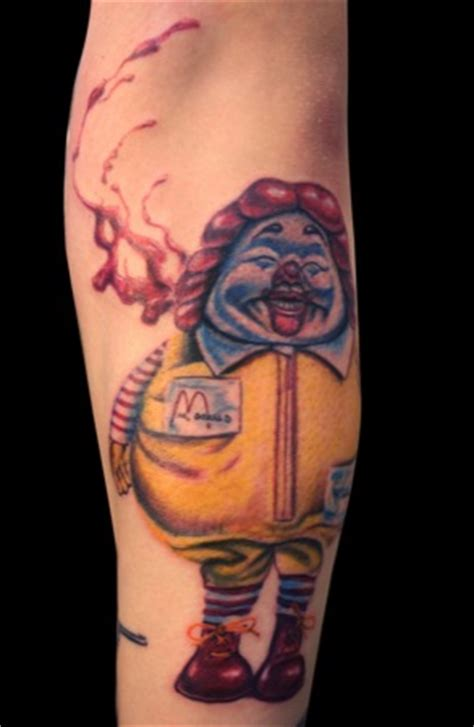 mcdonalds tattoo top 15 mcdonalds tattoos fast food jobler hourly