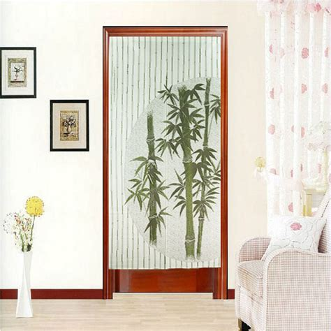 chinese door curtains chinese style green bamboo door curtain decorative