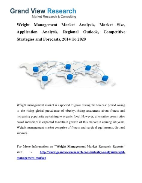 weight management applications weight management market trends company to 2020