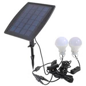 solar lighting indoor outdoor indoor solar powered led lighting 2 two bulbs l