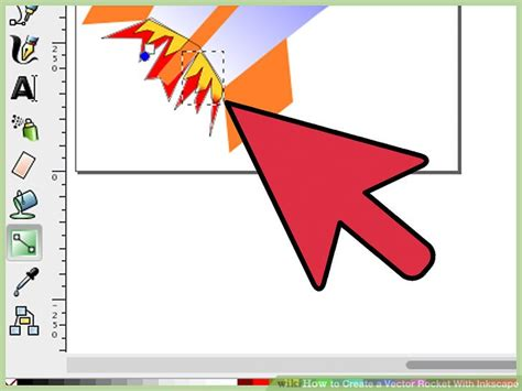 inkscape tutorial jpg to vector how to create a vector rocket with inkscape with pictures