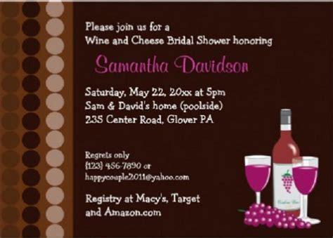 wine themed bridal shower sayings bridal shower invitations easyday