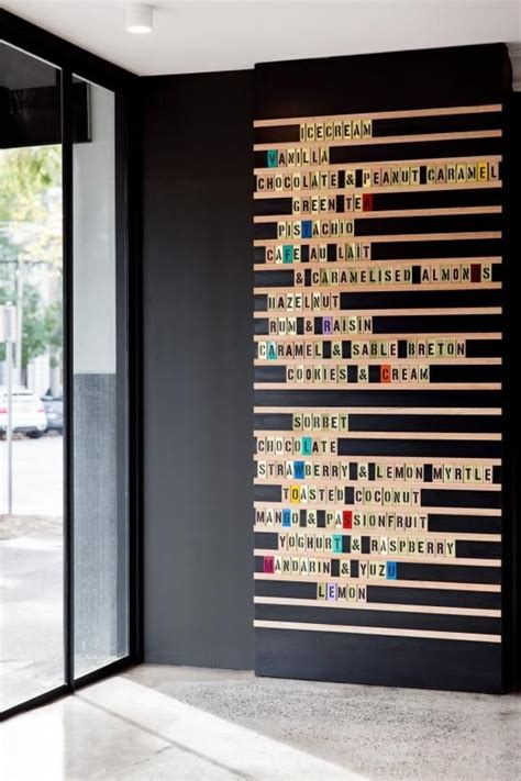 home design message board we want to adapt this restaurant menu idea to make a wall