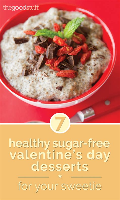 sugar free valentines 7 healthy sugar free s day desserts for your