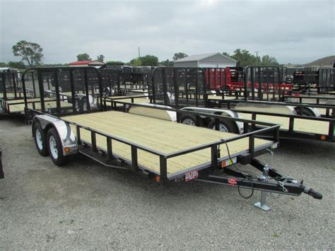 flat bed for sale 2018 pj trailers 20 landscape commercial grade flatbed
