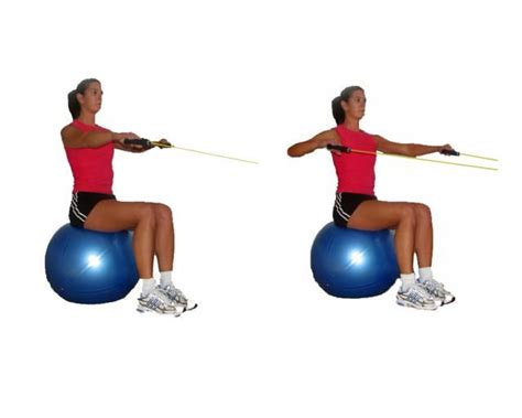 seated band exercises 10 best images about resistance band workout on