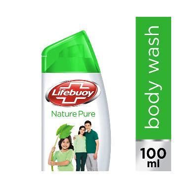 jual lifebuoy nature botol sabun cair 100 ml