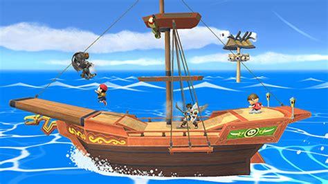 barco pirata zelda wind waker super smash bros wind waker pirate ship stage dlc for