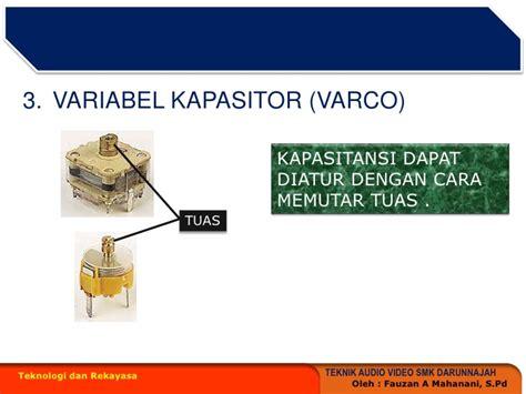komponen pasif induktor komponen pasif