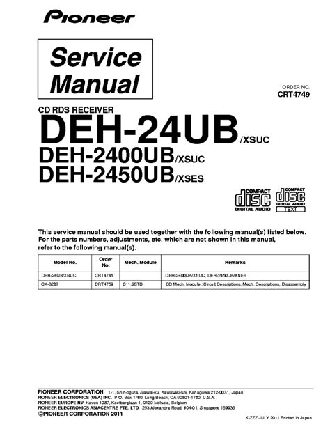 pioneer deh 24ub wiring pioneer deh 3300ub wiring harness