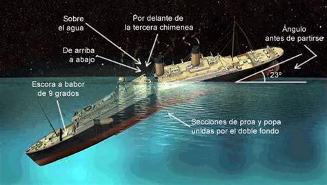 imagenes reales titanic hundido 191 cual fue el verdadero motivo por el cual se hundio el