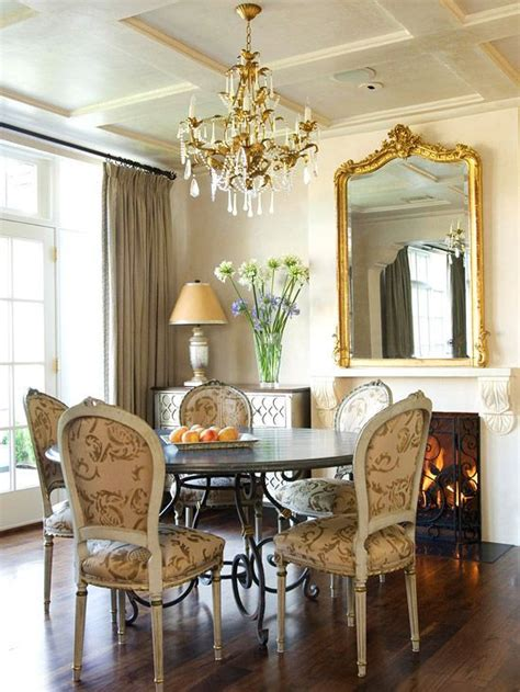 59020 round mirror in dining room dining room transitional 113 best images about mirrors on pinterest