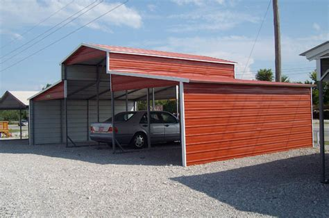 Small Metal Garage by Carports Small Metal Carports