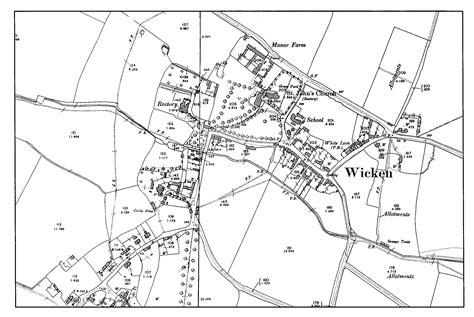 map uk wolverhton wicken history