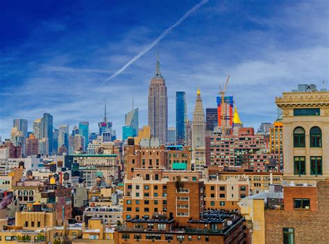 new york new york skyline free stock photo domain pictures