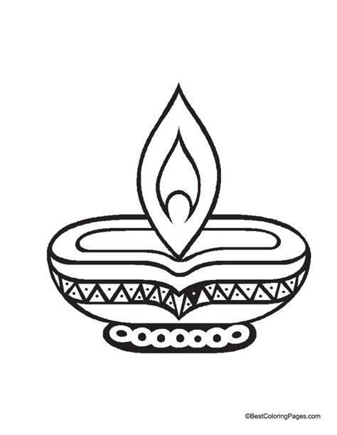 free coloring pages of diwali fireworks