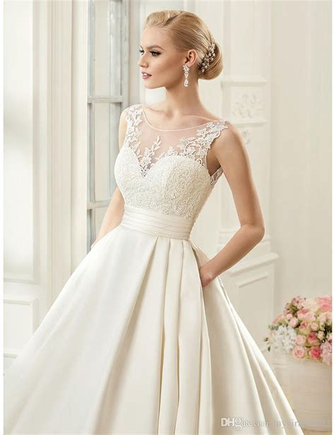 Wedding Gown Satin by 1000 Ideas About Aline Wedding Gowns On Camo