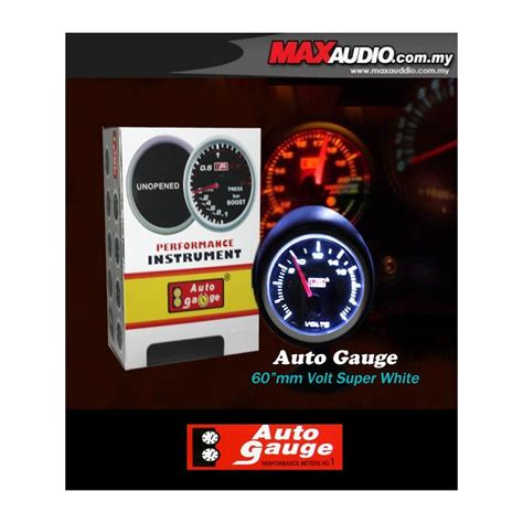 Speedometer New Cb150r Led Ori Ahm buy autogauge 2 5 quot white led defi smoke volt meter ag00362