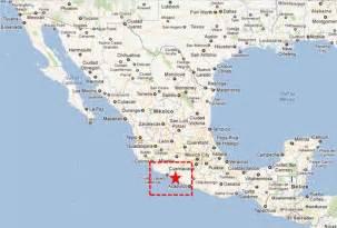 Ixtapa Mexico Map by Zihuatanejo Guerrero