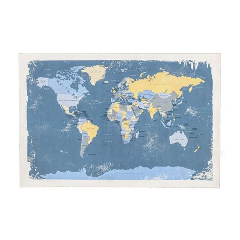 world map canvas blue world map canvas