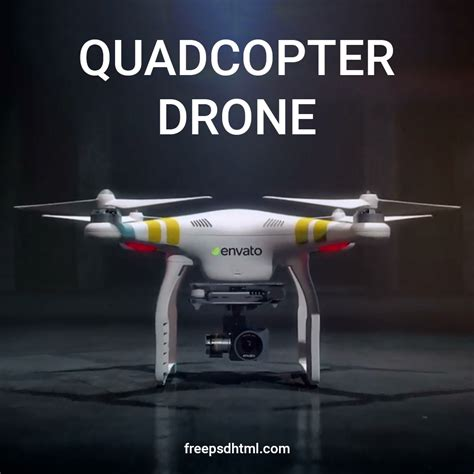 Free After Effect Template Quadcopter Drone Freepsdhtml Drone Intro Template