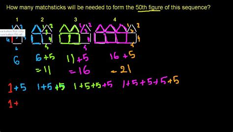 pattern recognition khan academy 14 patterns in sequences 2 khan academy in urdu youtube