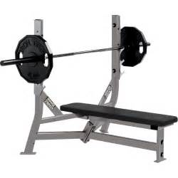 weight lifting bench press olympic weight flat bench hammer strength fitness