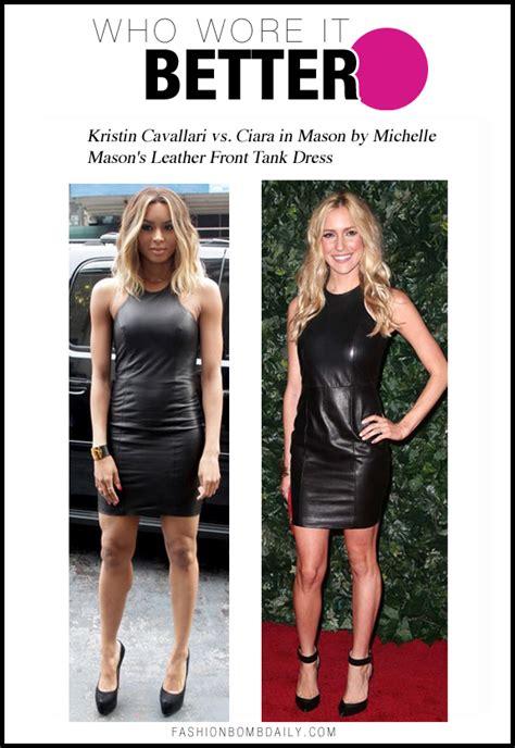 who wore it better k michelle vs erica dixon vh1 blog who wore it better kristin cavallari vs ciara in mason