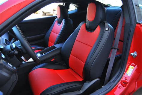 2012 camaro ss leather seat covers chevy camaro 1979 2012 iggee s leather custom fit seat