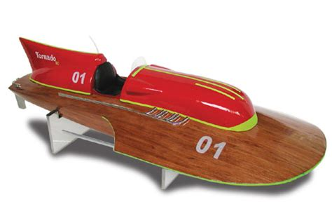 tornado radio controlled boats equipage tornado 80 wooden r c ep speed boat arr8002