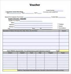 cheque voucher template payment voucher sle 7 documents in pdf
