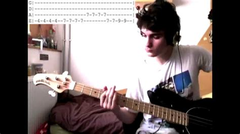 sofa song kooks hq bass cover solo tabs the kooks sofa song youtube