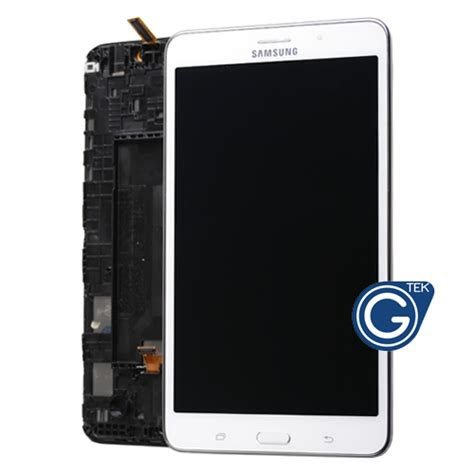 Samsung T231 Galaxy Tab 4 7 0 White samsung galaxy tab 4 7 0 sm t231 sm t235 complete lcd with frame and home button in white grade