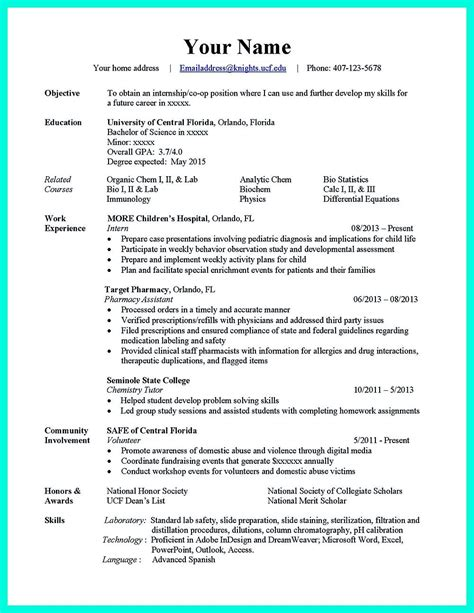 Resume Critique Ucf by Ucf Resume Resume Ideas