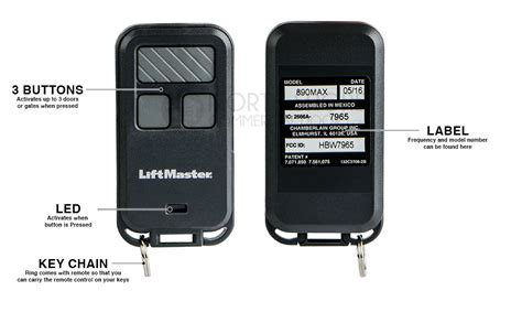liftmaster max remote replaces lm lm garage