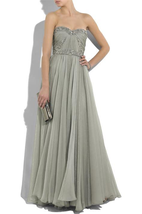 Marchesa Silk Chiffon Gown by Brainy Mademoiselle Marchesa Best Gowns So Far