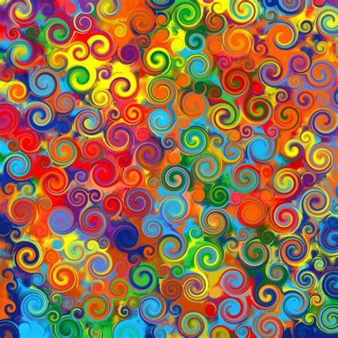 imagenes retro obras abstrakcyjna sztuka tęczowe koła kręcić kolorowe tło wz 243 r