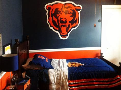 room bears 1000 ideas about chicago bears room on mike