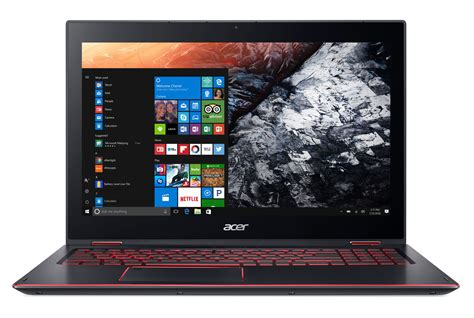 Laptop Acer Nitro 5 acer reveals convertible nitro 5 spin notebook for casual