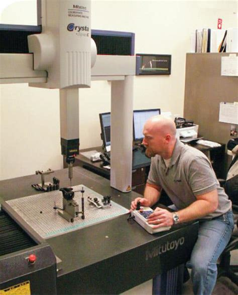 Cmm Programmer by Cmm Investment Promotes Molder S Growth Plastics Technology