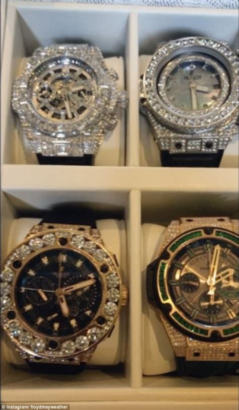 mayweather watch collection floyd mayweather shows off his beverly hills castle