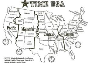 free map of us time zones giz images time zones post 2
