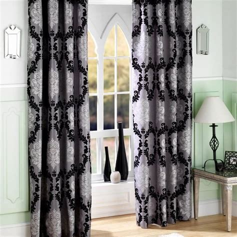 dark brown patterned curtains dark brown curtains bedroom ideas architecture black
